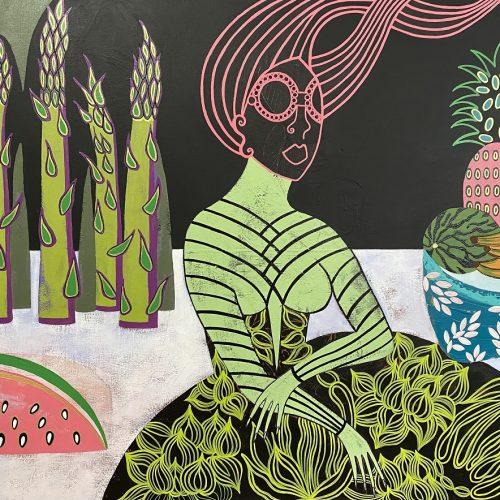Diana Rosa Fruit day, 40x30(S-R)