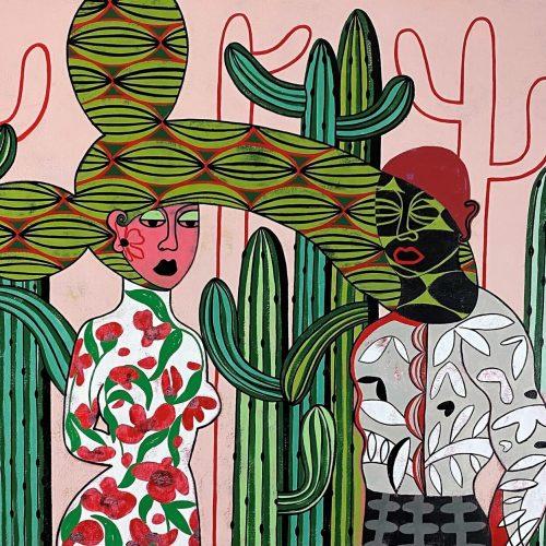 Diana Rosa, Blind date, 60 x 30