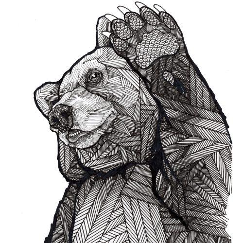 Ian Mac Leod _ Bear high 5