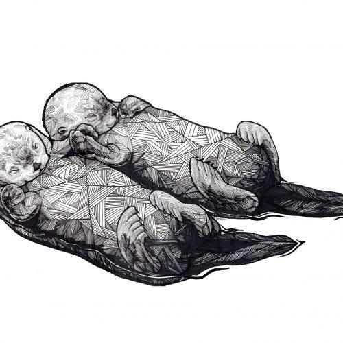 Ian MacLeod_Art otters