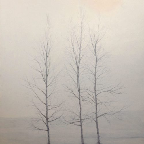 Yuji YOKOYAMA_Winter Trees, 24'' x 36''
